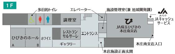 JA埼玉ひびきの本店【調理室】(本庄市)